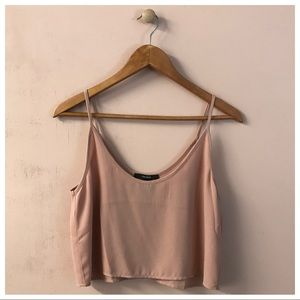 Forever 21 Blush Pink Crop Top
